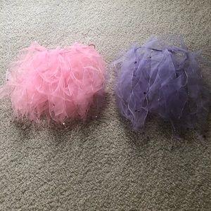 Two Girls Pink & Purple Tutus